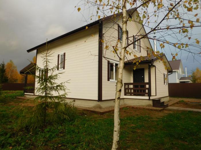 Дом в деревне наро фоминск пмж